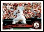 2011 Topps #490  Matt Holliday  Front Thumbnail