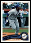 2011 Topps #551  Marcus Thames  Front Thumbnail