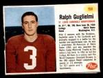 1962 Post #158  Ralph Guglielmi  Front Thumbnail