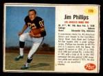 1962 Post #170  Jim Phillips  Front Thumbnail