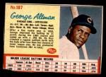 1962 Post #187  George Altman   Front Thumbnail