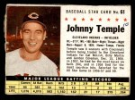 1961 Post #61 BOX Johnny Temple   Front Thumbnail