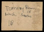 1961 Post #88 BOX Whitey Herzog   Back Thumbnail