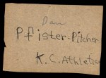 1961 Post #140  Wilmer Mizell   Back Thumbnail