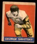 1949 Leaf #144  George Savitsky  Front Thumbnail