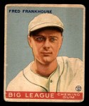 1933 Goudey #131  Fred Frankhouse  Front Thumbnail
