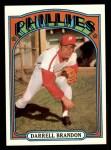 1972 Topps #283  Darrell Brandon  Front Thumbnail
