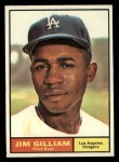 1961 Topps #238  Jim Gilliam  Front Thumbnail