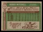 1976 Topps #479  Bobby Mitchell  Back Thumbnail
