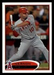 2012 Topps #13  Vernon Wells  Front Thumbnail