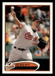 2012 Topps #4  Jeremy Guthrie  Front Thumbnail