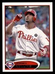 2012 Topps #617  Jimmy Rollins  Front Thumbnail