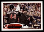 2012 Topps #643  Chris Young  Front Thumbnail