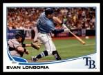 2013 Topps #103  Evan Longoria   Front Thumbnail