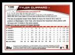 2013 Topps #136  Tyler Clippard   Back Thumbnail