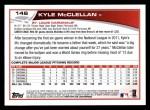 2013 Topps #146  Kyle McClellan   Back Thumbnail