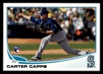 2013 Topps #157  Carter Capps   Front Thumbnail