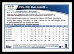 2013 Topps #159  Felipe Paulino   Back Thumbnail