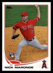 2013 Topps #187  Nick Maronde   Front Thumbnail