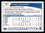 2013 Topps #191  Chris Capuano   Back Thumbnail