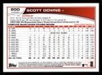 2013 Topps #200  Scott Downs   Back Thumbnail