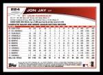 2013 Topps #224  Jon Jay   Back Thumbnail