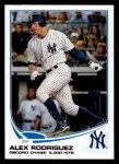 2013 Topps #303  Alex Rodriguez   Front Thumbnail