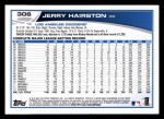2013 Topps #306  Jerry Hairston   Back Thumbnail