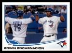 2013 Topps #310  Edwin Encarnacion   Front Thumbnail