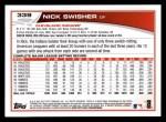 2013 Topps #339  Nick Swisher  Back Thumbnail