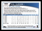 2013 Topps #389  Phil Hughes  Back Thumbnail