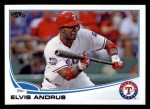 2013 Topps #436  Elvis Andrus  Front Thumbnail