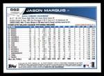 2013 Topps #562  Jason Marquis  Back Thumbnail