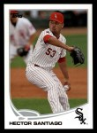 2013 Topps #620  Hector Santiago  Front Thumbnail