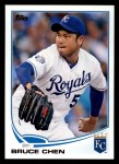 2013 Topps #641  Bruce Chen  Front Thumbnail