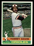 1976 Topps #149  Tommy Davis  Front Thumbnail