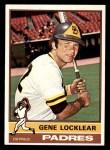 1976 Topps #447  Gene Locklear  Front Thumbnail