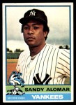 1976 Topps #629  Sandy Alomar  Front Thumbnail