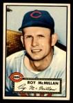 1952 Topps #137 CRM Roy McMillan  Front Thumbnail