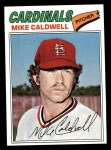 1977 Topps #452  Mike Caldwell  Front Thumbnail