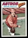 1977 Topps #308  Gene Pentz  Front Thumbnail