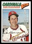 1977 Topps #229  Don Kessinger  Front Thumbnail