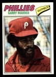 1977 Topps #520  Garry Maddox  Front Thumbnail