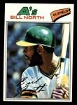 1977 Topps #551  Bill North  Front Thumbnail