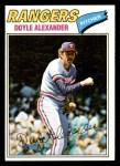 1977 Topps #254  Doyle Alexander  Front Thumbnail