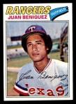 1977 Topps #81  Juan Beniquez  Front Thumbnail