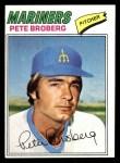 1977 Topps #409  Pete Broberg  Front Thumbnail
