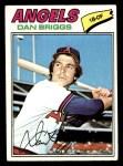 1977 Topps #592  Dan Briggs  Front Thumbnail