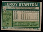 1977 Topps #226  Leroy Stanton  Back Thumbnail