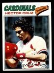 1977 Topps #624  Hector Cruz  Front Thumbnail